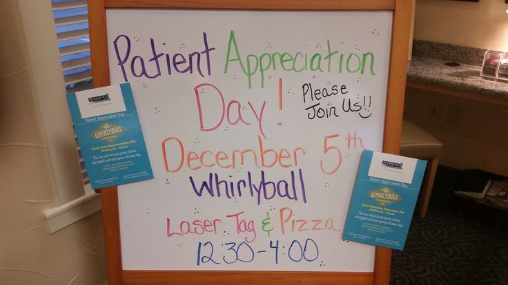 19 Best Patient Appreciation Days Images On Pinterest