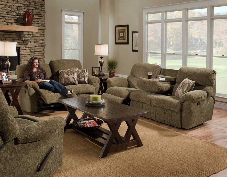 Reclining Loveseat Our Store Franklin Green