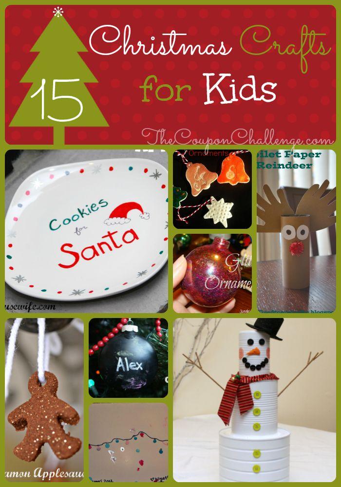 Kids Christmas Crafts I 15 Christmas Crafts for Kids