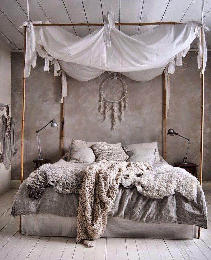 #hippie #chic #style #estilo #bedroom #habitacion #decor #decoracion by…