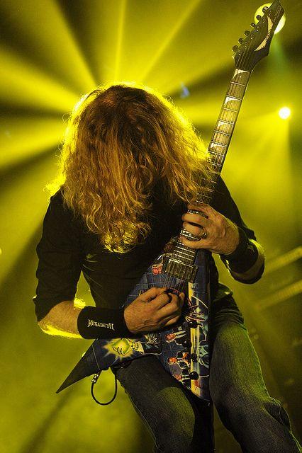 Dave Mustaine de Megadeth por Oscar Villanueva.