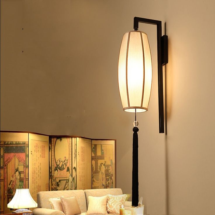 34.50$  Watch here - http://aiyrs.worlditems.win/all/product.php?id=32757600833 - Chinese style fabric wall lamp,retro cloth sconce bra for tearoom living room aisle corridor bedroom theme restaurant light