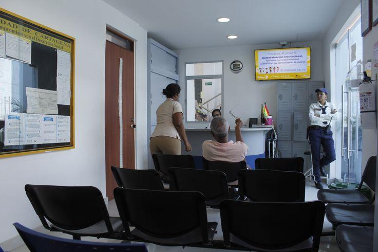 Sala de Espera Centro de Atención Primaria - CAP