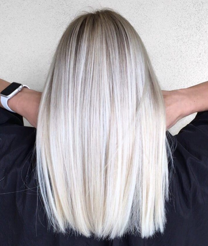 70 Devastatingly Cool Haircuts For Thin Hair Platinum Blonde