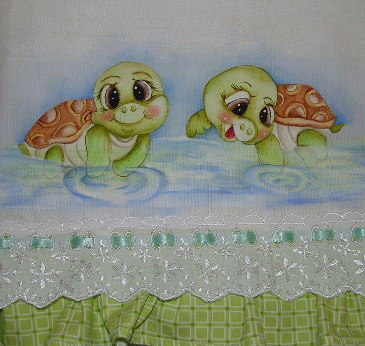 Pintura em Tecido - Fralda
