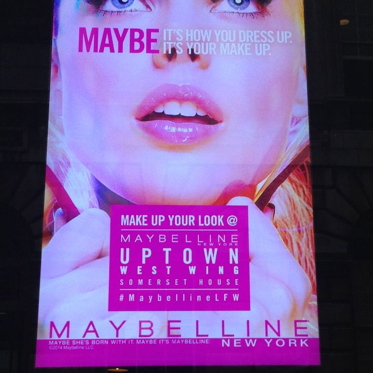 Maybelline at LFW - had a great pop up shop with new nail colours and lip glosses.