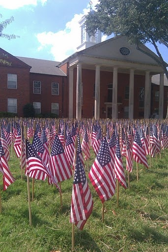 Hernando, Mississippi Courthouse ~ in honor of 9/11/2001