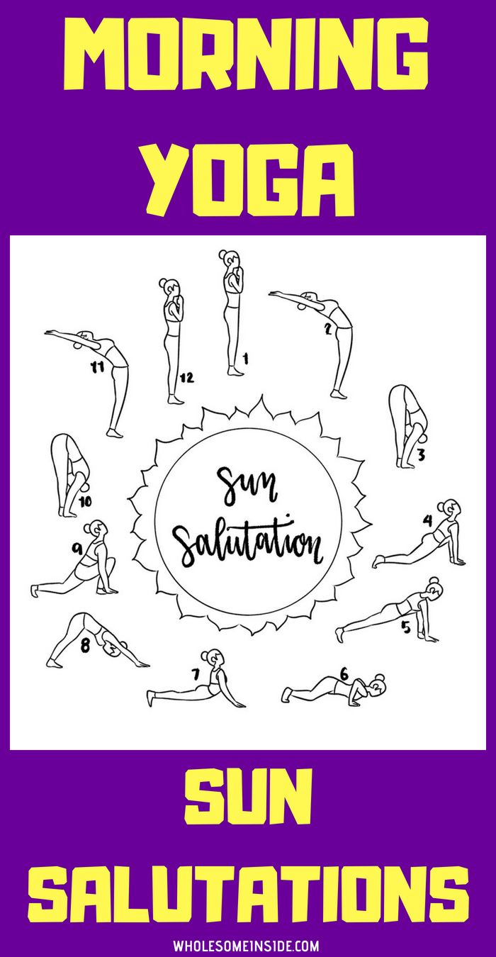 This amazing morning sun salutation yoga only takes 10 minutes and is perfect if…
