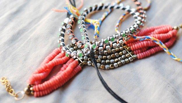 Skip The Store: Make $8 DIY Bracelets #PrettySavvySweeps #JeepCompass