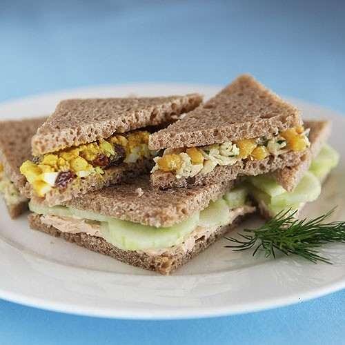 Eating Tea Sandwiches! | Clean eating | Pinterest | Tea Sandwiches ...