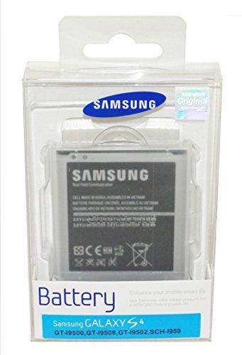 GENUINE ORIGINAL SAMSUNG S4 GT-I9500 / GT-I9505 REPLACEMENT BATTERY EB-B600BEBECWW IN SEALED RETAIL PACKAGING Samsung http://www.amazon.co.uk/dp/B00X8W3SAQ/ref=cm_sw_r_pi_dp_xRhqwb05W5RDB