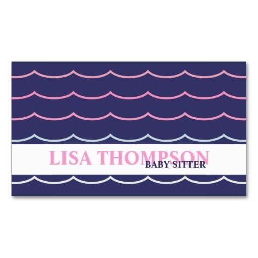 Best Child Care Business Cards Images On Pinterest Business - Sample of business card template