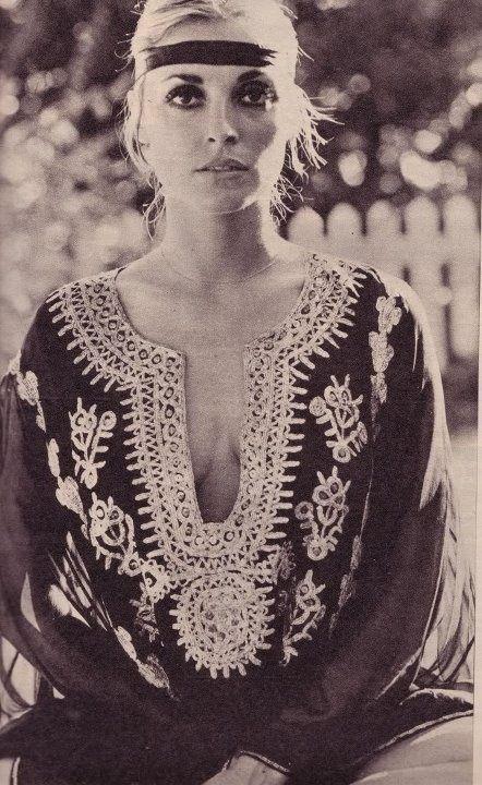70's....she was amazing...Sharon Tate...always beautiful, always remembered.