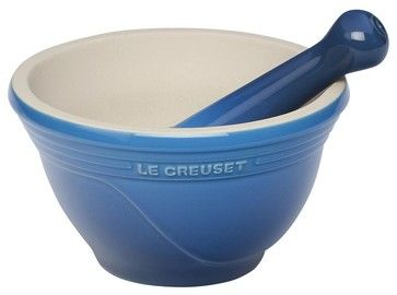 Le Creuset  Mortar and Pestle Set traditional specialty tools