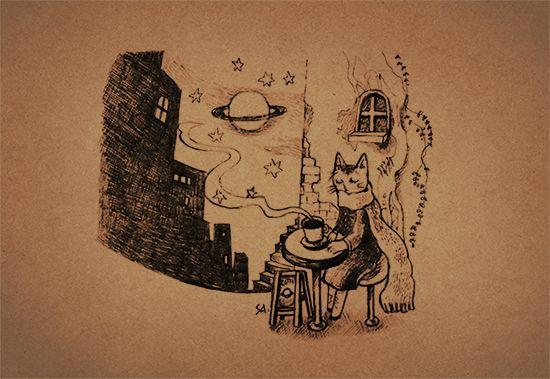 旅猫と星と珈琲