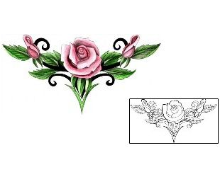 Lower Back Tattoos MPF-00221 Created by Mistress of Pain