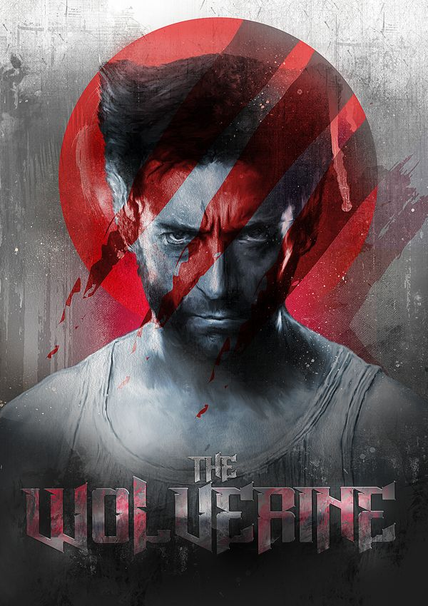 Hugh Jackman as Wolverine by Richard Davies
