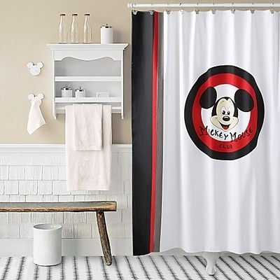 1000 Ideas About Mickey Mouse Shower Curtain On Pinterest Mickey Mouse Bathroom Mickey
