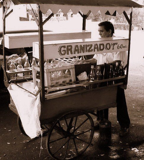 LOVE: Childhood memories: granizado de anis (anissette italian ice) along the Malecon in Havana...my heart aches remembering this!