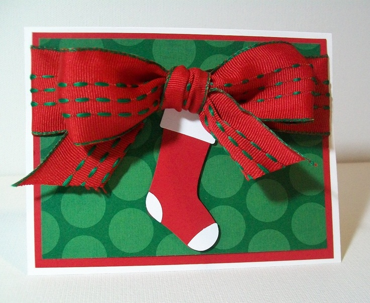 Xmas Card Ideas To Make Part - 31: Handmade Christmas Card