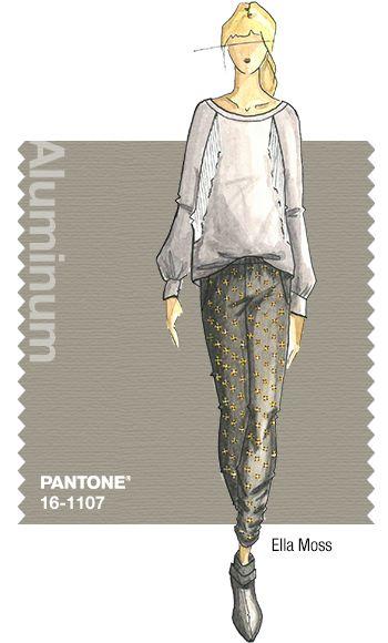 Aluminium Pantone