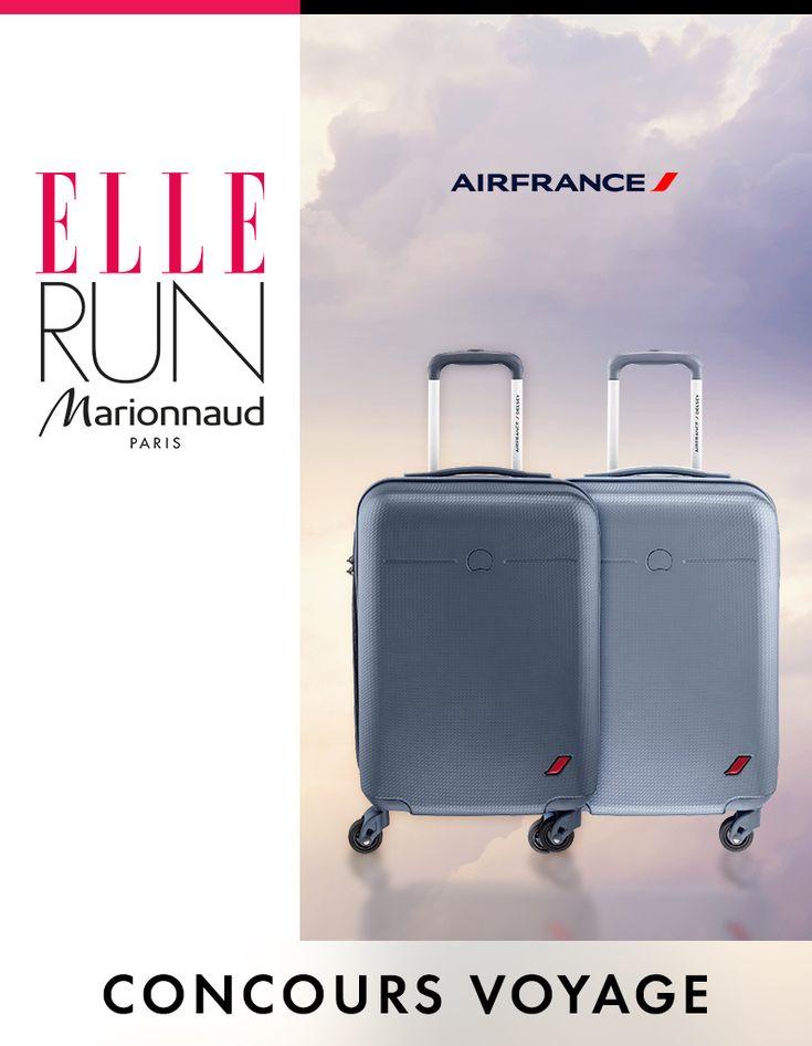 Votre valise cabine Envol avec Air France - Elle