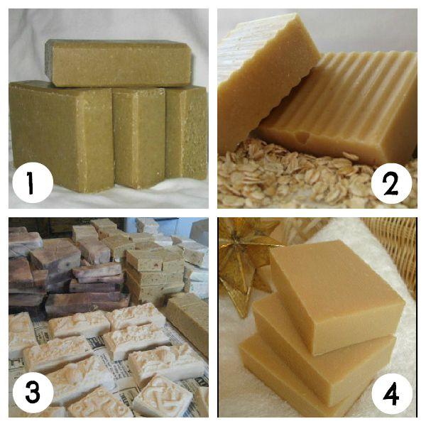 Goat Milk Soap Recipes via @Angela England