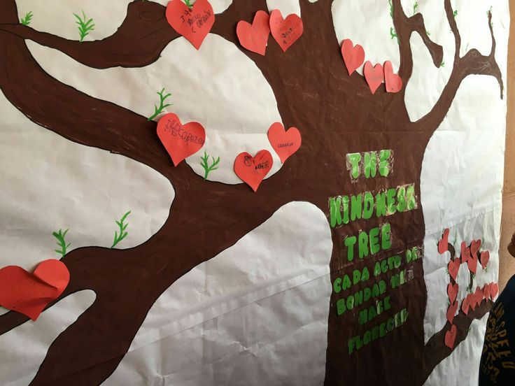 The kindness tree. Dia de la paz 2016