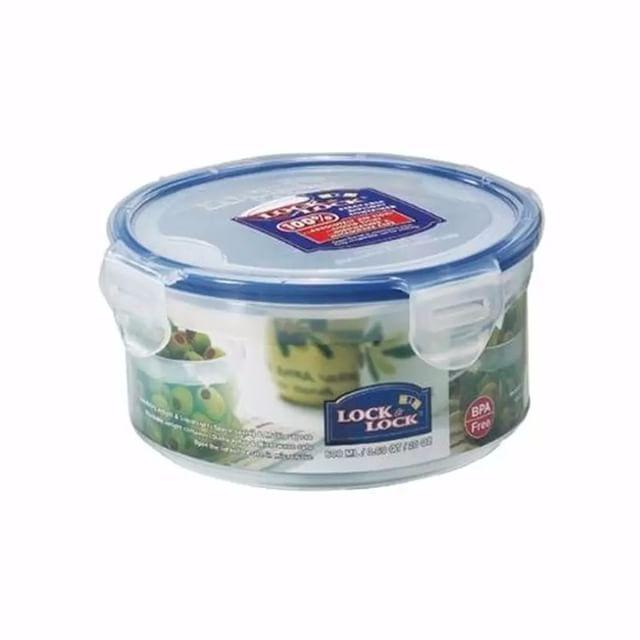 Nama Produk Lock N Lock Food Container Hpl933 Round Short 600ml