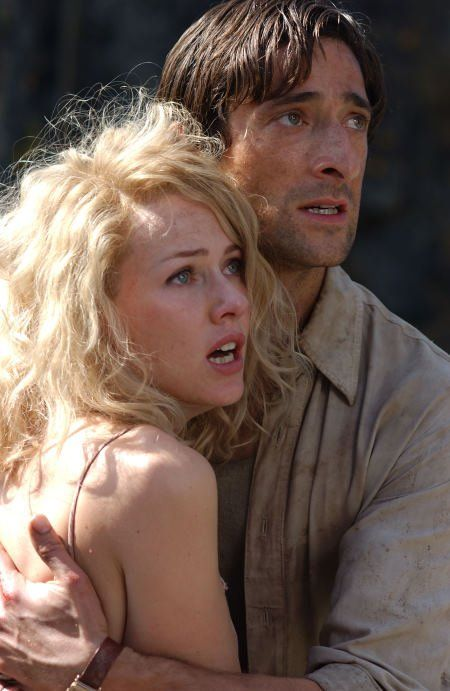 Still of Adrien Brody, King Kong and Naomi Watts in King Kong