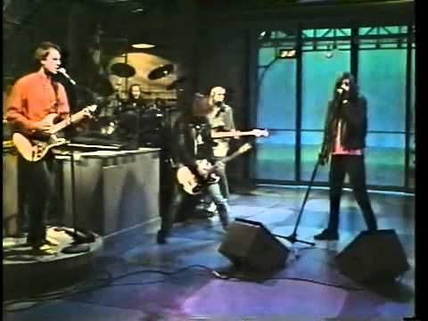 """Johnny and Joey appear on """"The David Letterman"""" show  in 1989 and perform """"Pet Sematary"""" (without Marky and Dee Dee)"""