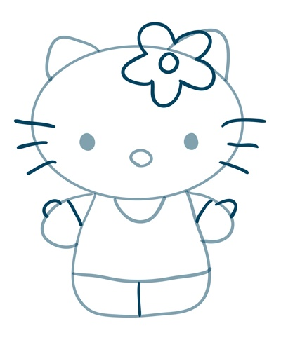 how-to-draw-hello-kitty-step-3