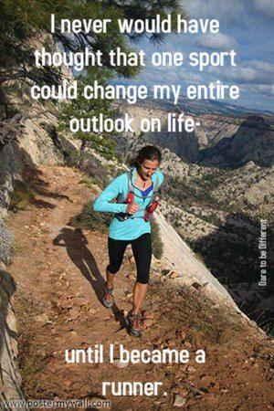 Until I became a runner...