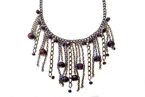 Chain Me Up Statement Necklace – Dirty Lola's
