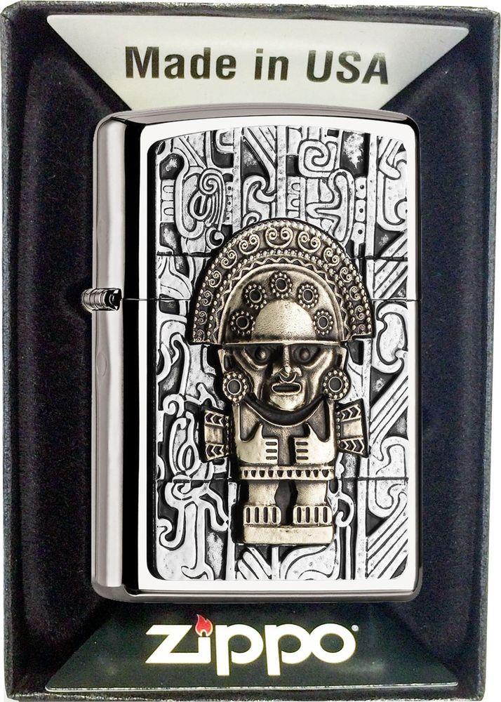 Zippo Benzin Feuerzeug MAYA TUMI MIT oder OHNE Geschenk-Set 2004744