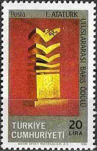 Ataturk Peace Prize 1986
