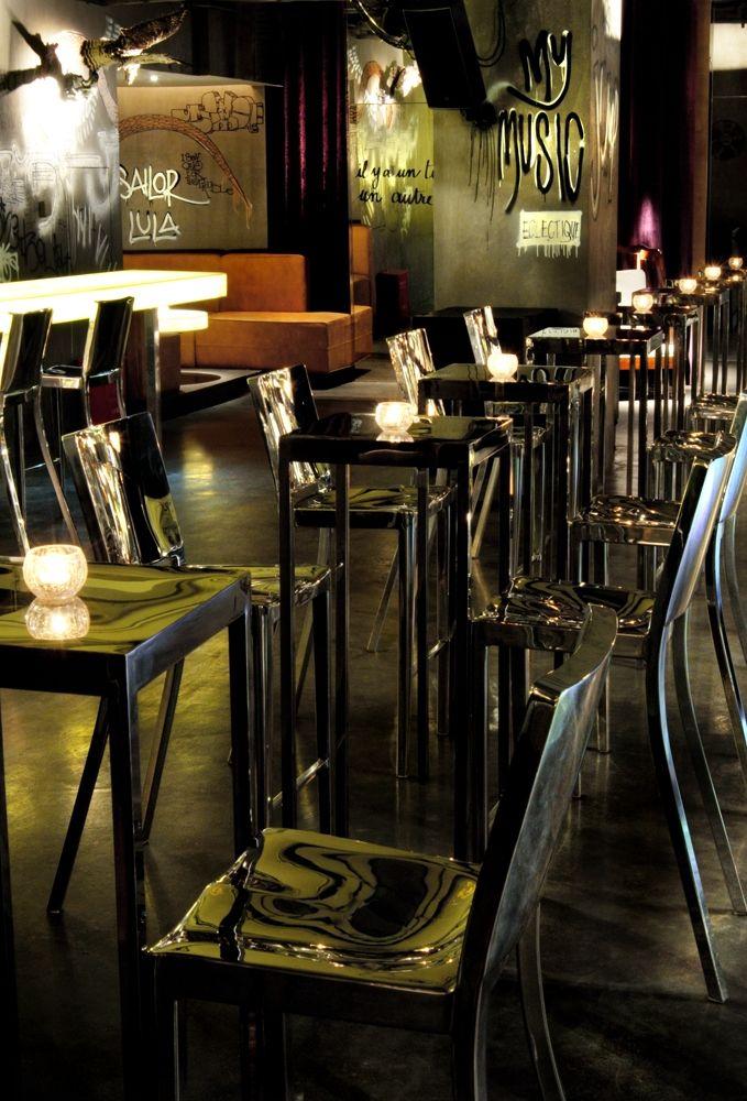 volar club shanghai designed by philippe starck interior bar restaurant lounge. Black Bedroom Furniture Sets. Home Design Ideas
