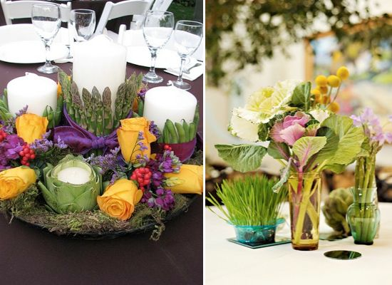 Best images about wedding greenery vegetables
