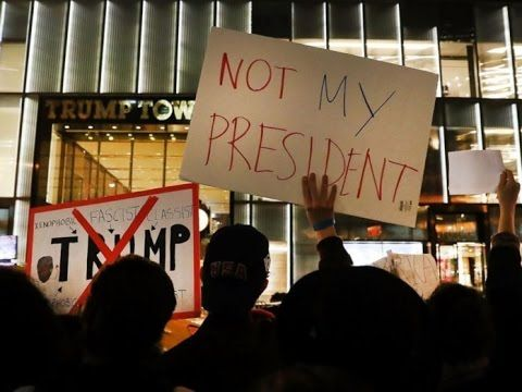 BREAKING: Anti-Trump Protests Just Got Deadly! See The Tragic Story Of This Father! - YouTube