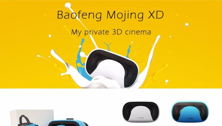 Baofeng Mojing XD 3D VR Glasses Virtual Reality Helmet Cardboard VR Box for iPhone 7 Plus 6 6S & Android 4.7 5.5 6″ Smartphone – Shop Now! – WorldOfTablet.com