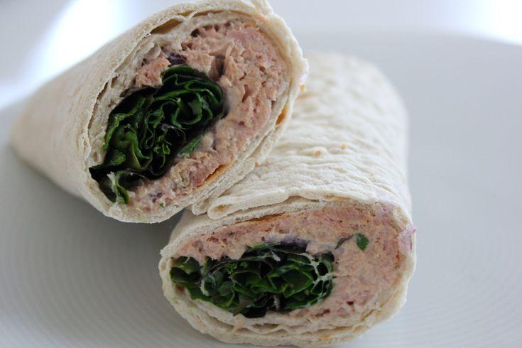 Tunnbrödsrulle med tonfisk | Vardagsköket | Recept