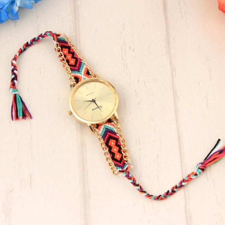 Festival hippie band unisex casual watch