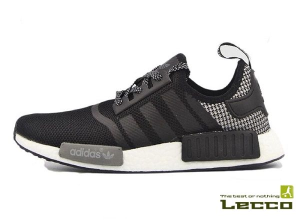 Мужские кроссовки Adidas NMD Runner Black/Grey/White