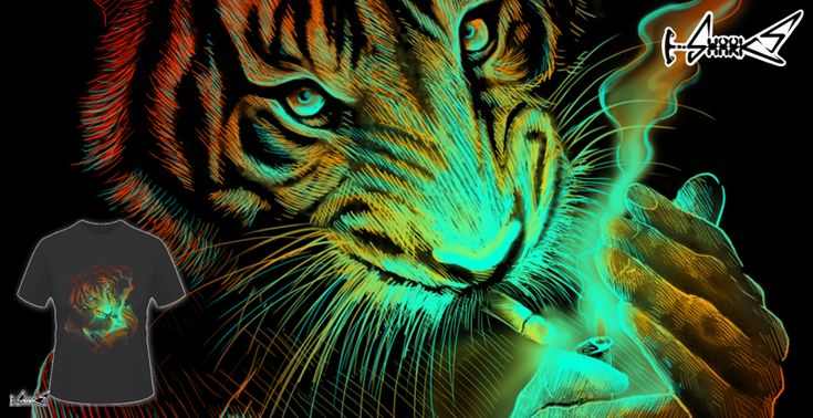 Tiger Light T-shirts - Designed by: Lou Patrick Mackay