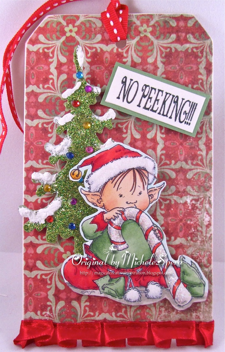 magical Creative Inspiration by Michele Spera: MR Cricut Crazy's Christmas Tag Blog Hop