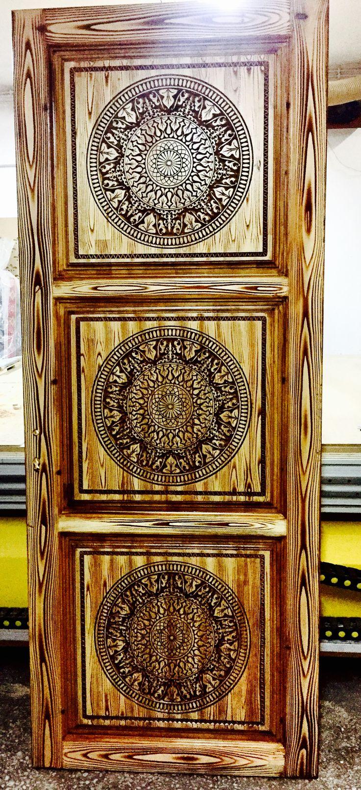 Vcarved wood door cnc