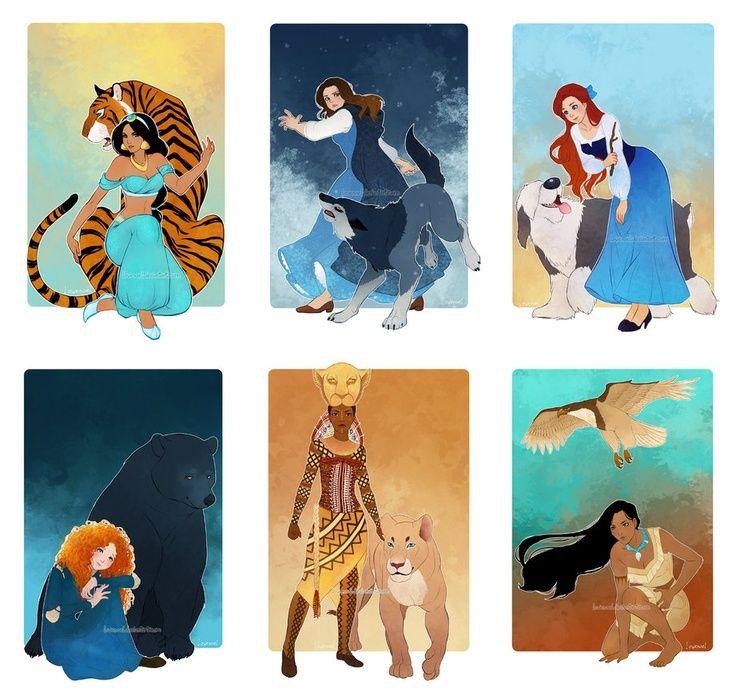 Aladdin (Jasmine), Beauty and the Beast (Belle), Little ...