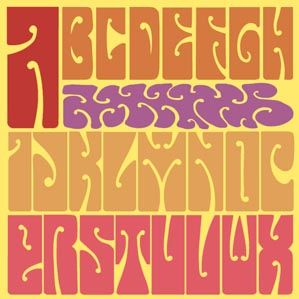 psychedelic lettering - Google Search