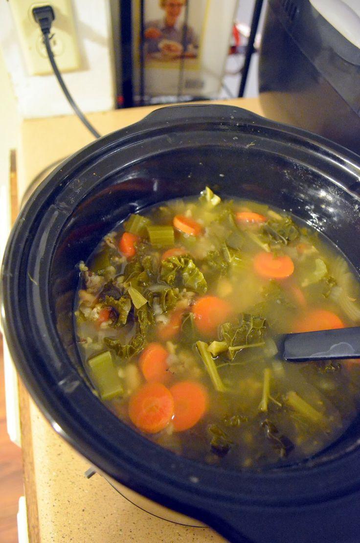 Vegan Crock Pot Healthy Soup Recipe Vanishing Veggie
