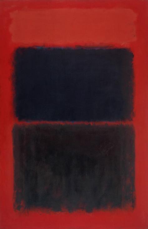 interest-exhibit: Mark Rothko, Light Red Over Black, Oil on canvas, 1957